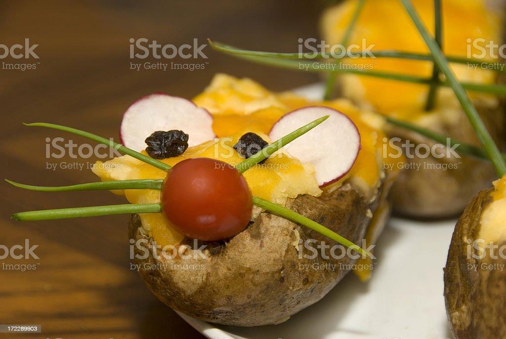 Potato Mouse royalty-free stock photo