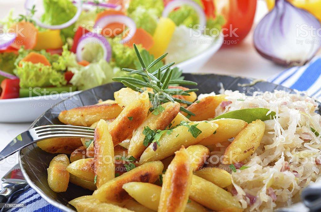 Potato noodles royalty-free stock photo