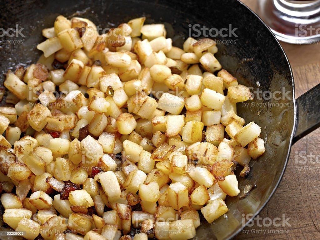 Potato O'Brien royalty-free stock photo
