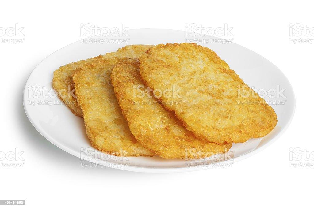 Potato Patties royalty-free stock photo