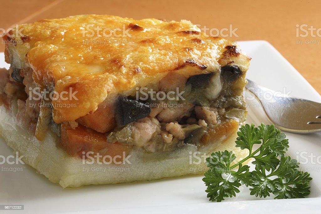 Potato pie royalty-free stock photo