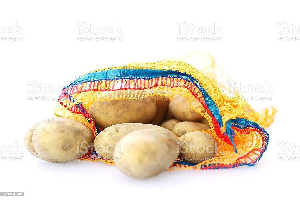 Potato Sack stock photo