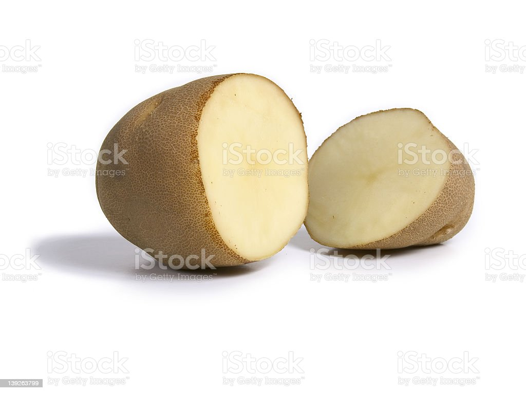 Potato Slice royalty-free stock photo