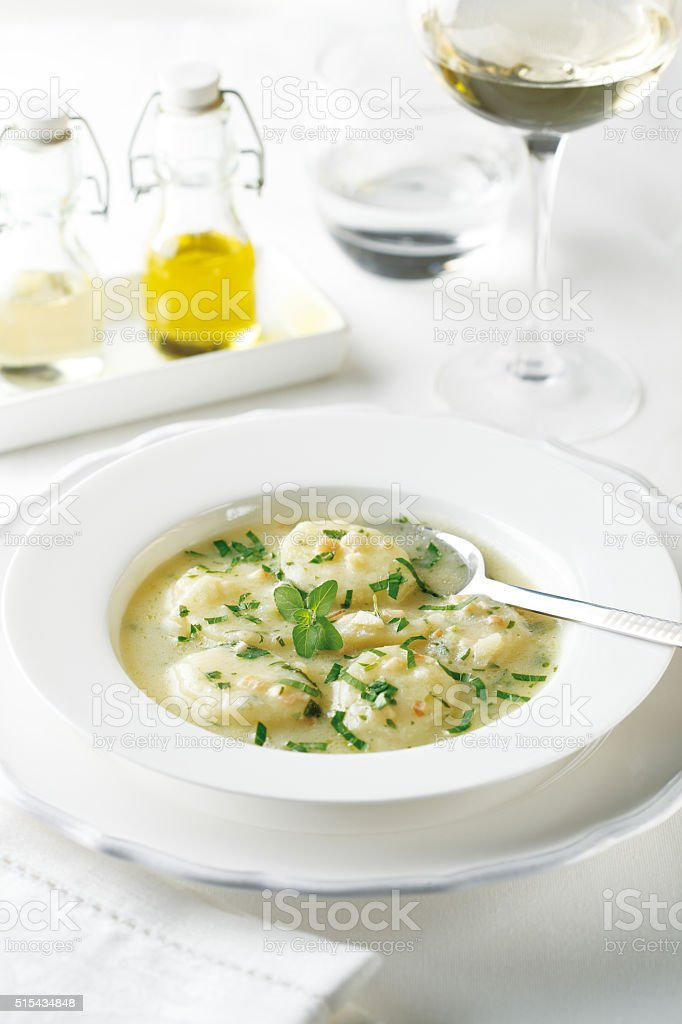 Potato stew stock photo