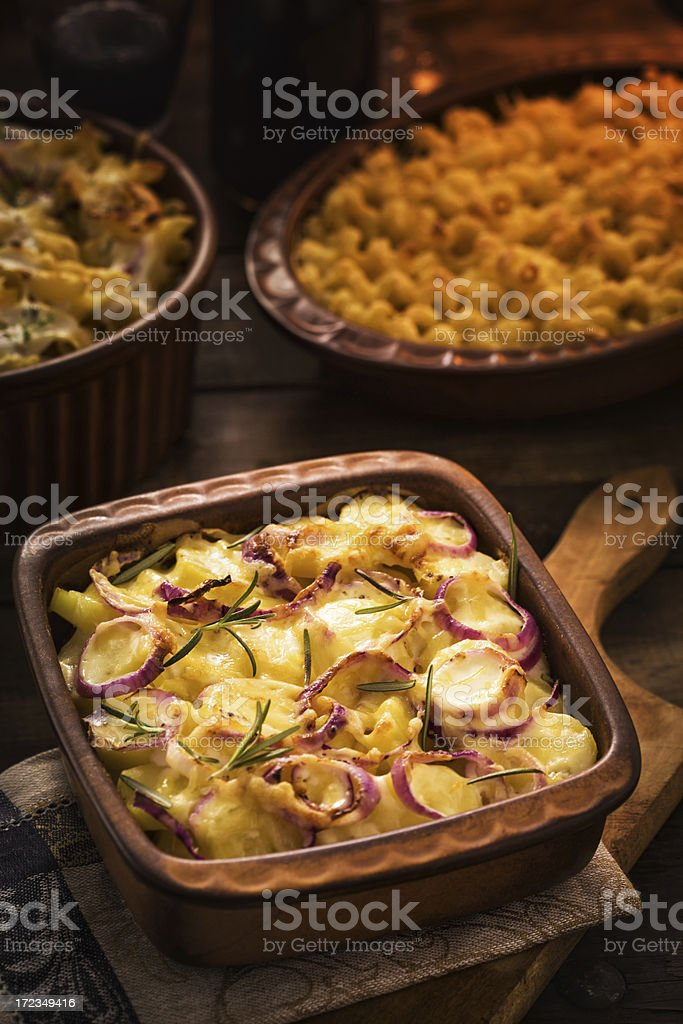 Potatoes Gratin royalty-free stock photo