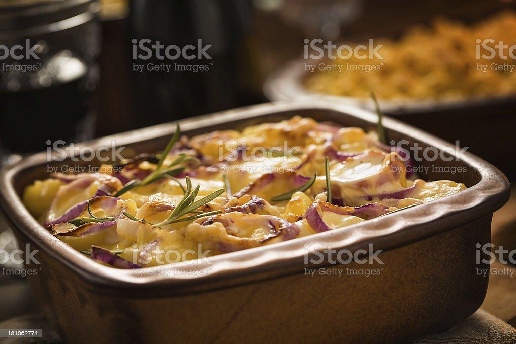 Potatoes Gratin royalty-free stock photo