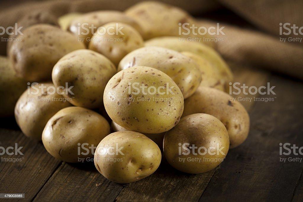 Potatoes stock photo