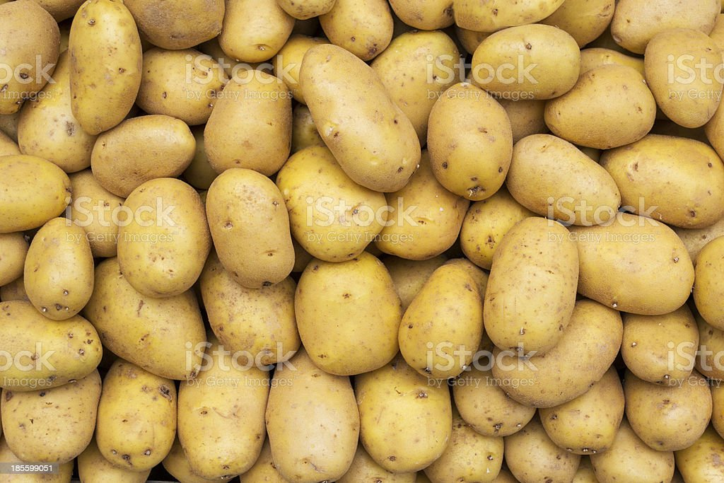 potatoes raw vegetables royalty-free stock photo