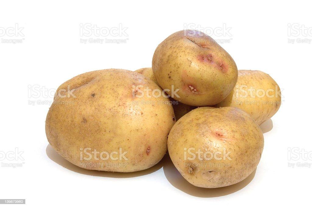 Potatoes_1 royalty-free stock photo