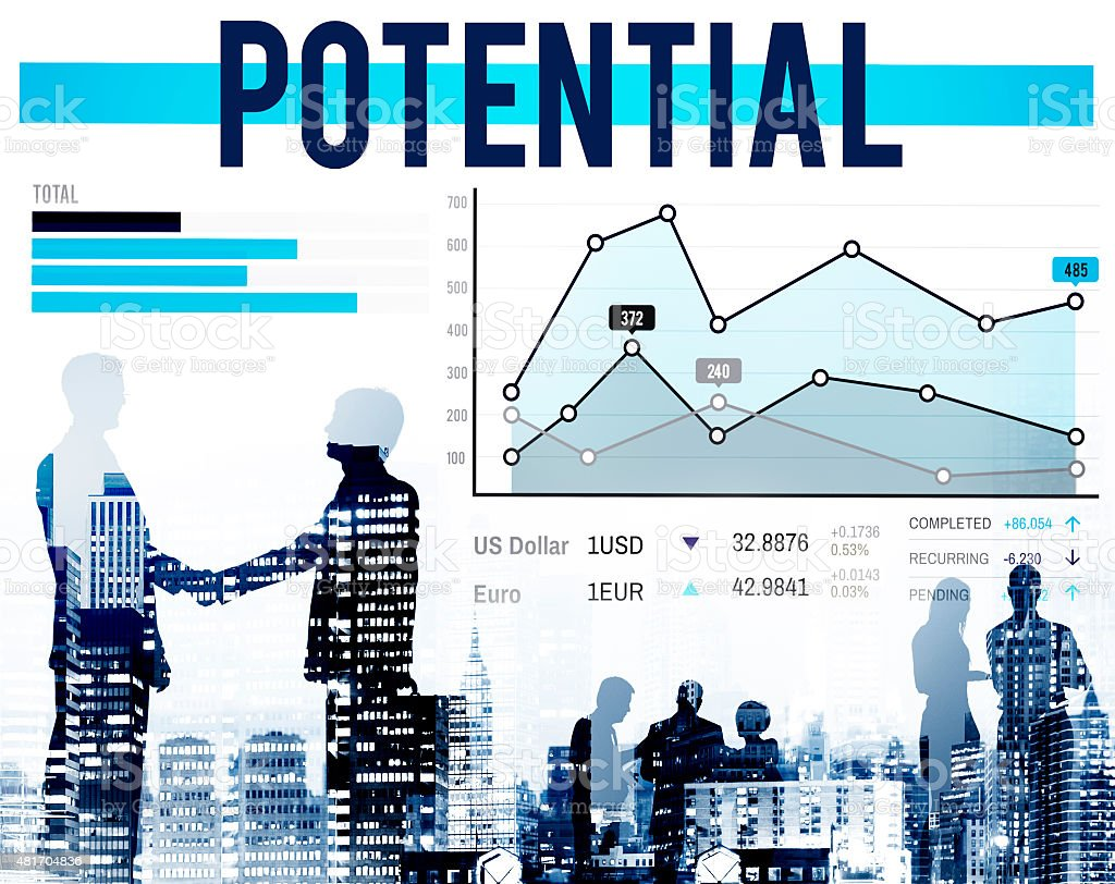 Potential Ability Analysis Possibility Opportunity Concept stock photo