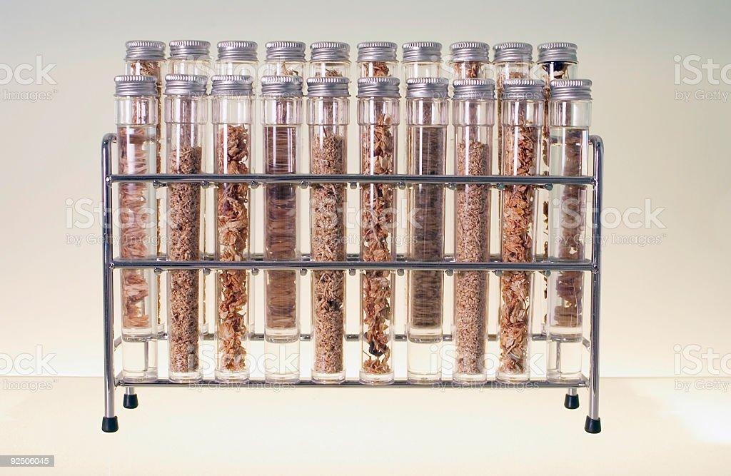 Potions, Herbs, and Vials royalty-free stock photo