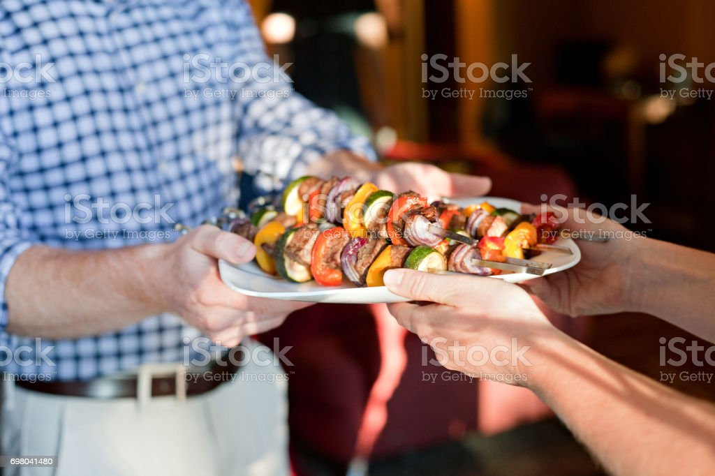 Potluck Contribution stock photo