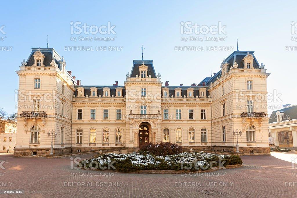 Potocky Palace, Lviv, Ukraine stock photo