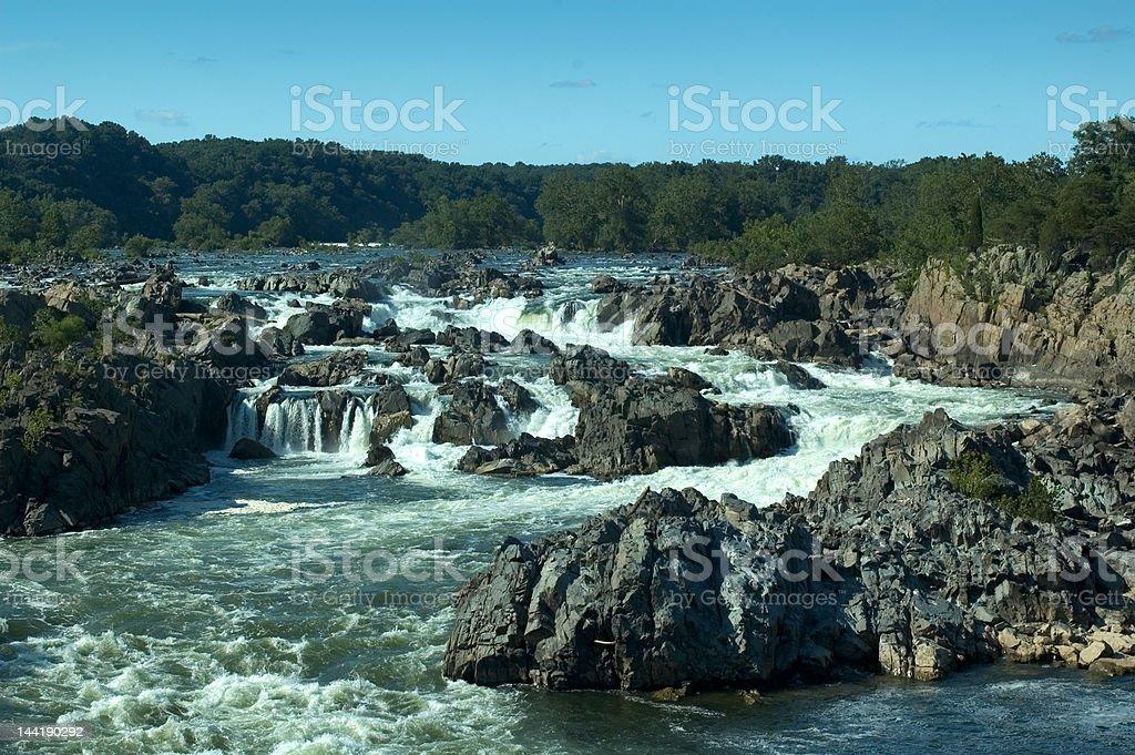 Potomac River royalty-free stock photo