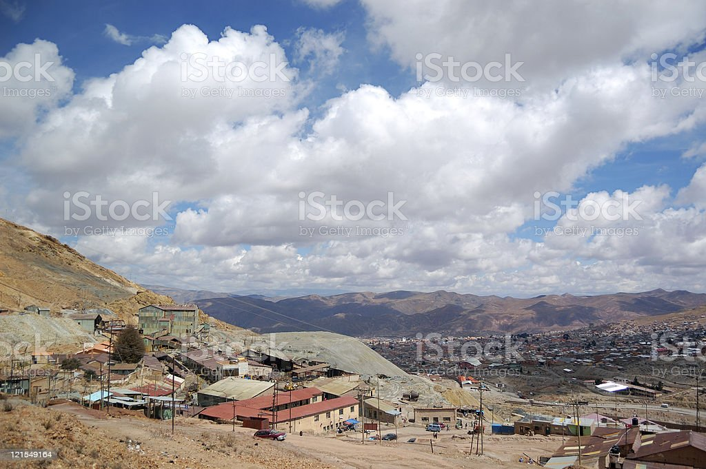 Potosi mines royalty-free stock photo