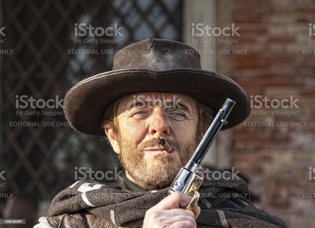 Potrait of a Mercenary royalty-free stock photo