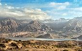 Potrerillos dam, Mendoza,Argentina