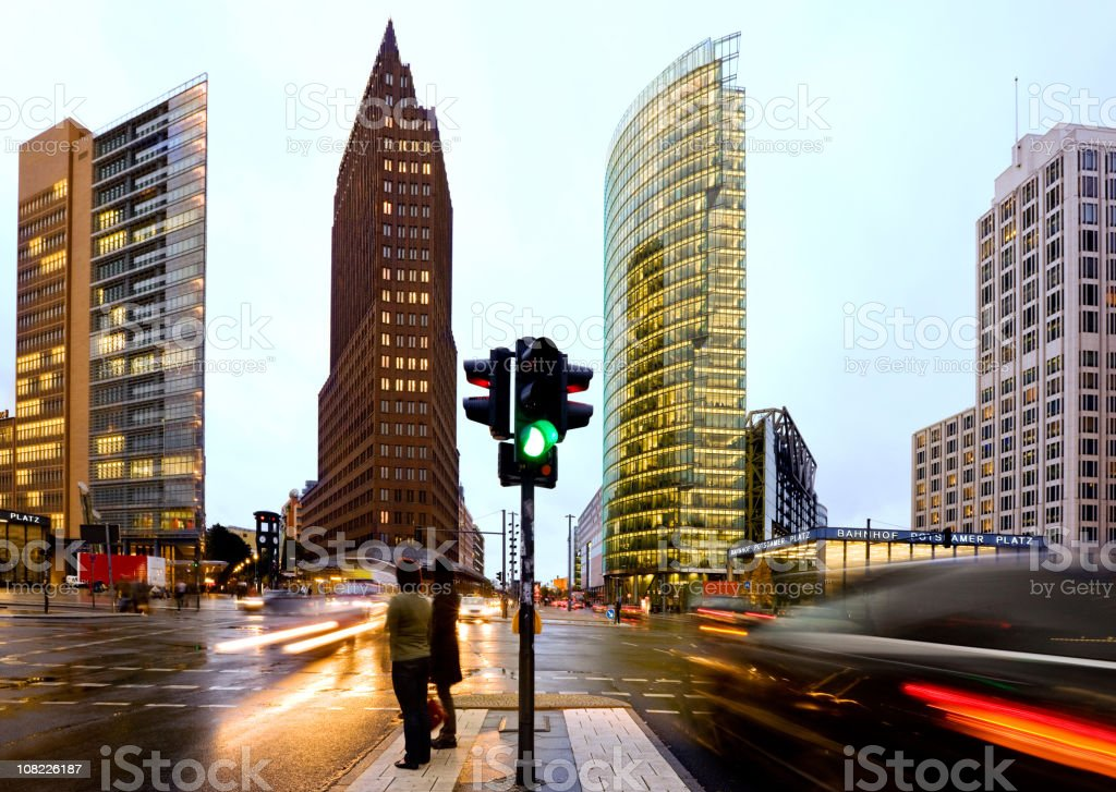 Potsdamer Place royalty-free stock photo