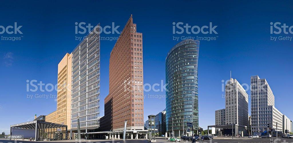 Potsdamer Platz, Berlin royalty-free stock photo