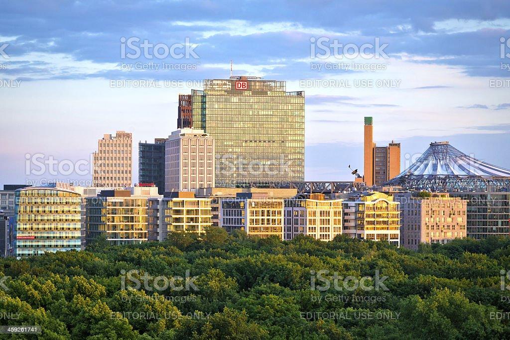 'Potsdamer Platz, Berlin' stock photo