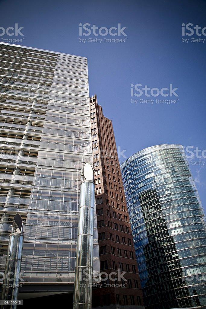 potsdamer platz berlin stock photo