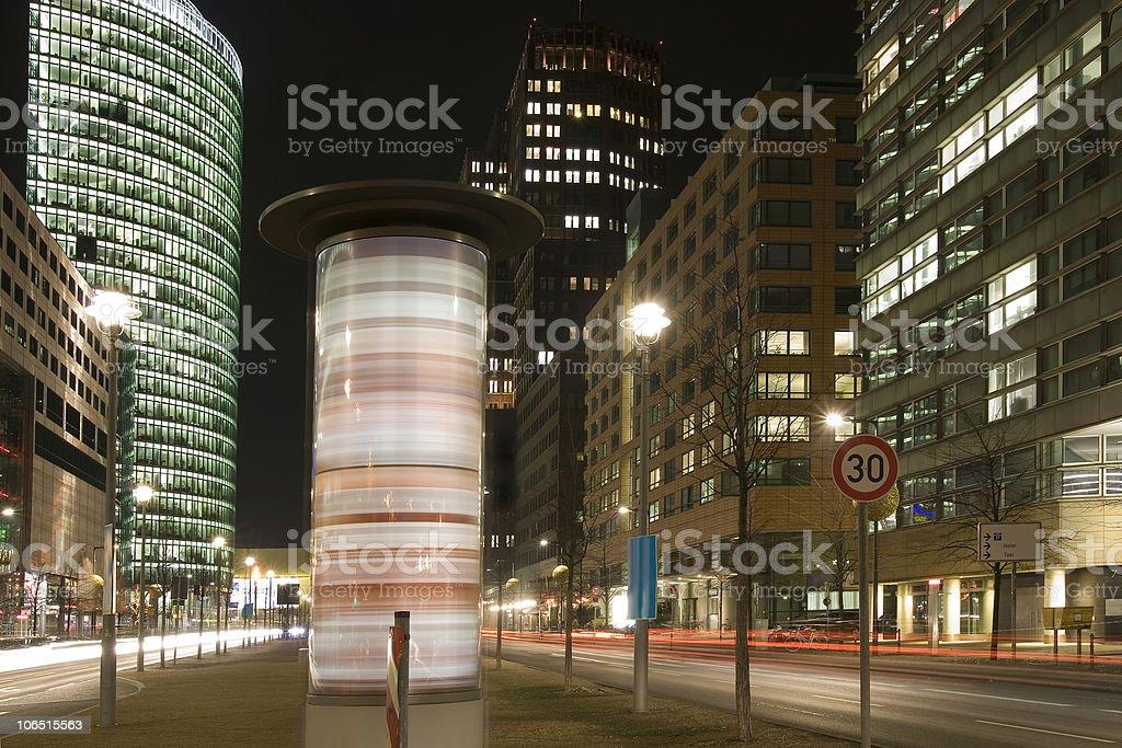 Potsdamer Platz stock photo