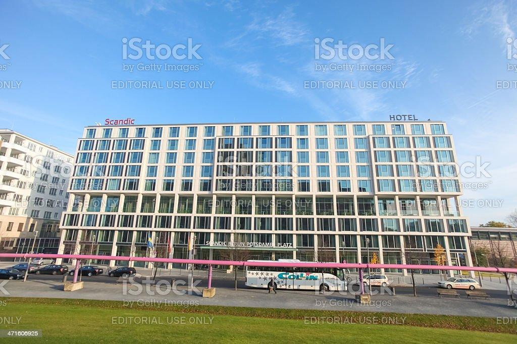 Potsdamer platz royalty-free stock photo
