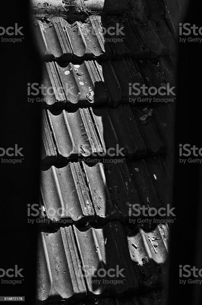 Potsherd stock photo