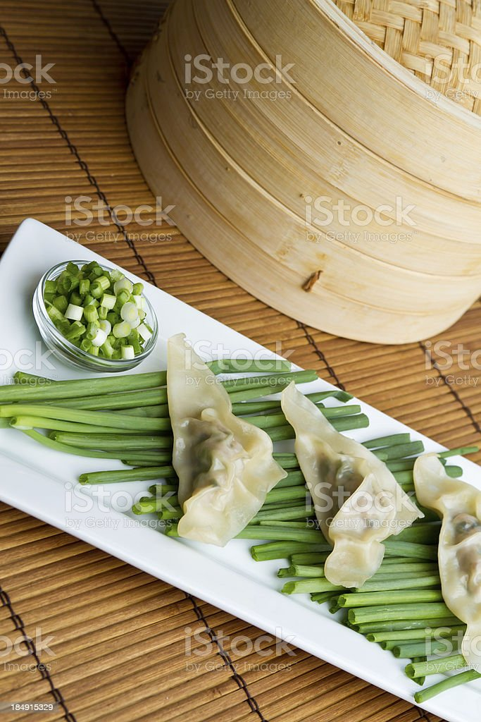Potstickers royalty-free stock photo