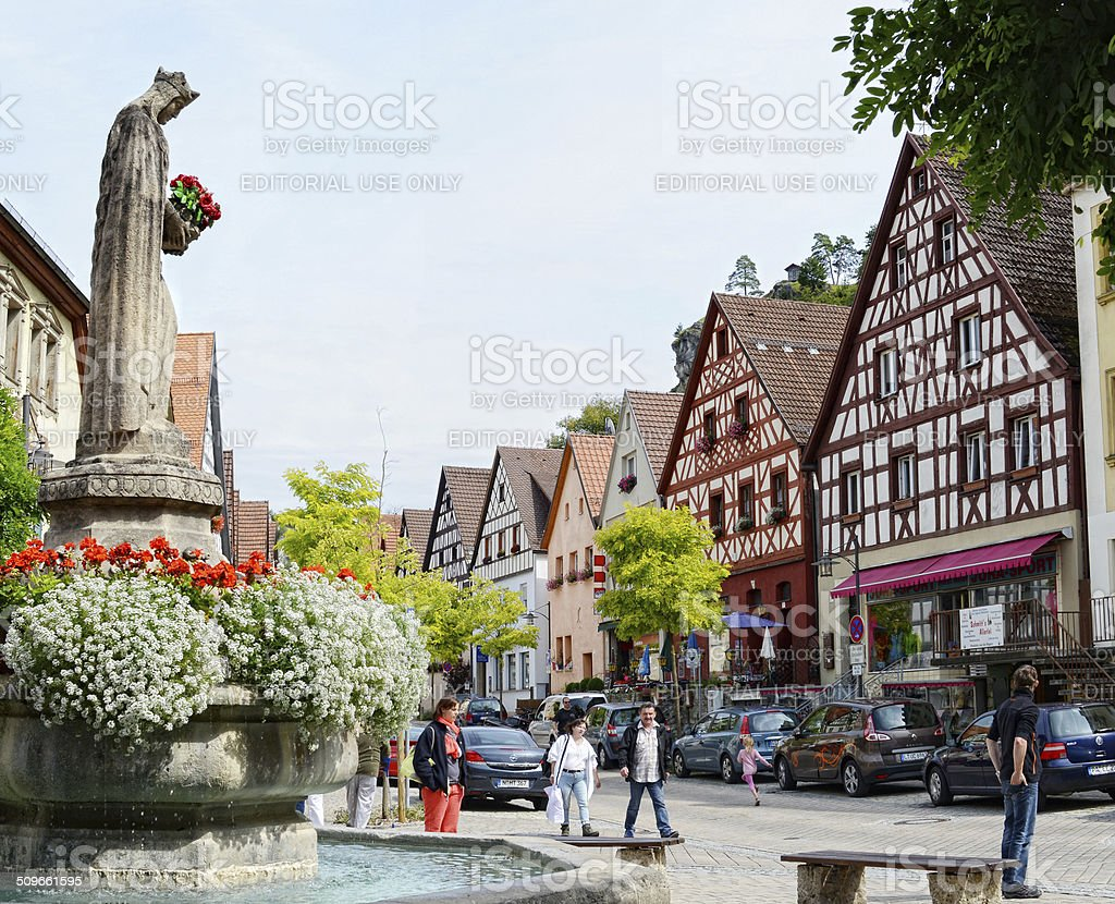 Pottenstein of Cityscape stock photo