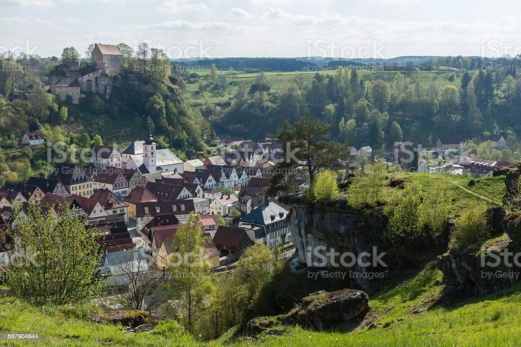 Pottenstein stock photo