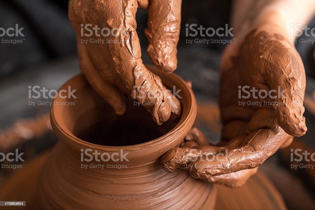 potter stock photo