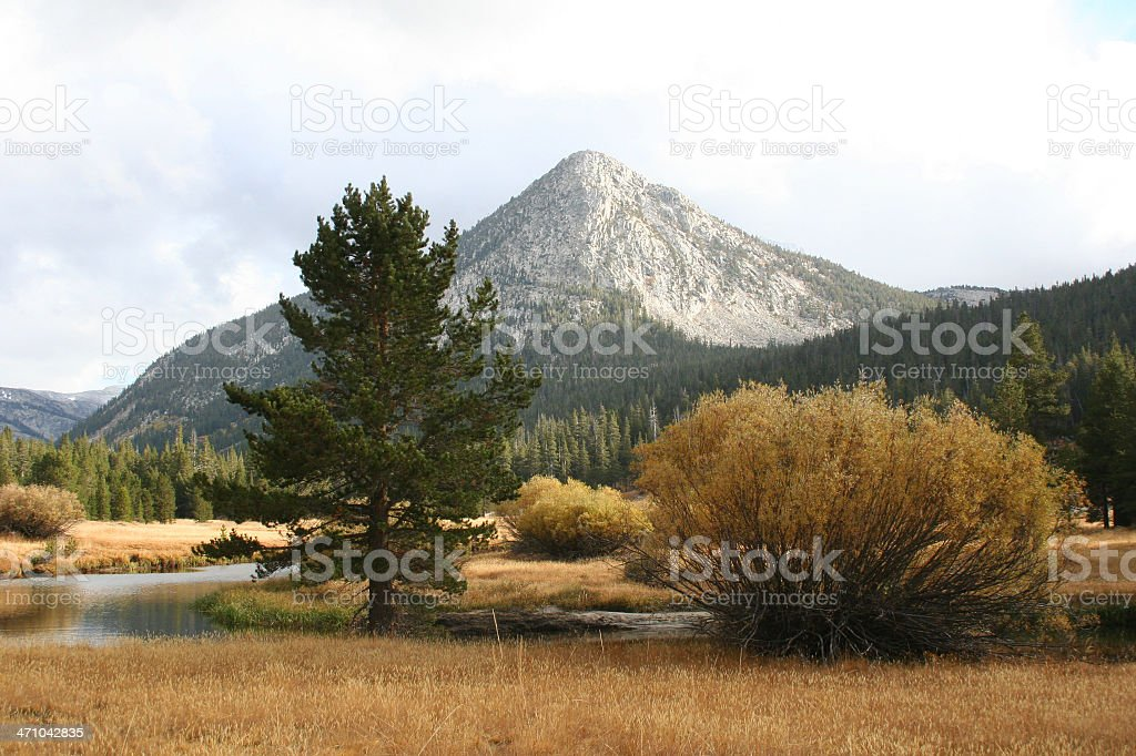 Potter Point, Yosemite royalty-free stock photo