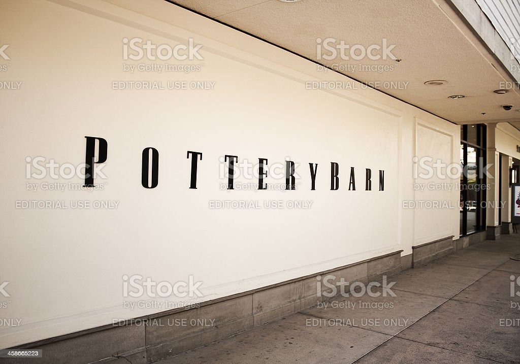 Pottery Barn stock photo