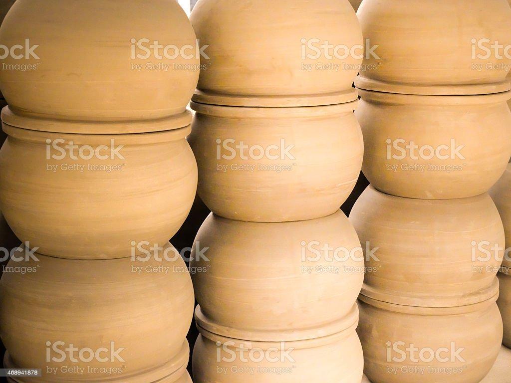 Pottery ceramics stock photo
