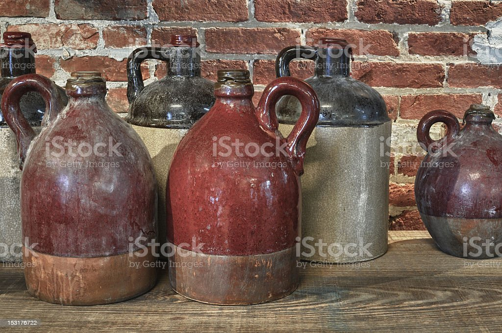 Pottery Still Life stock photo