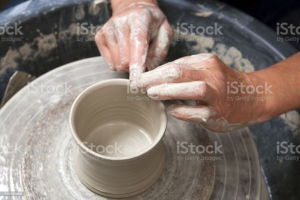 Pottery studio stock photo