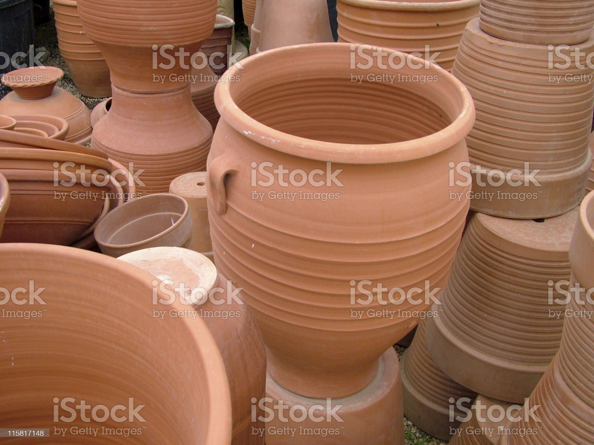 Pottery stuff royalty-free stock photo