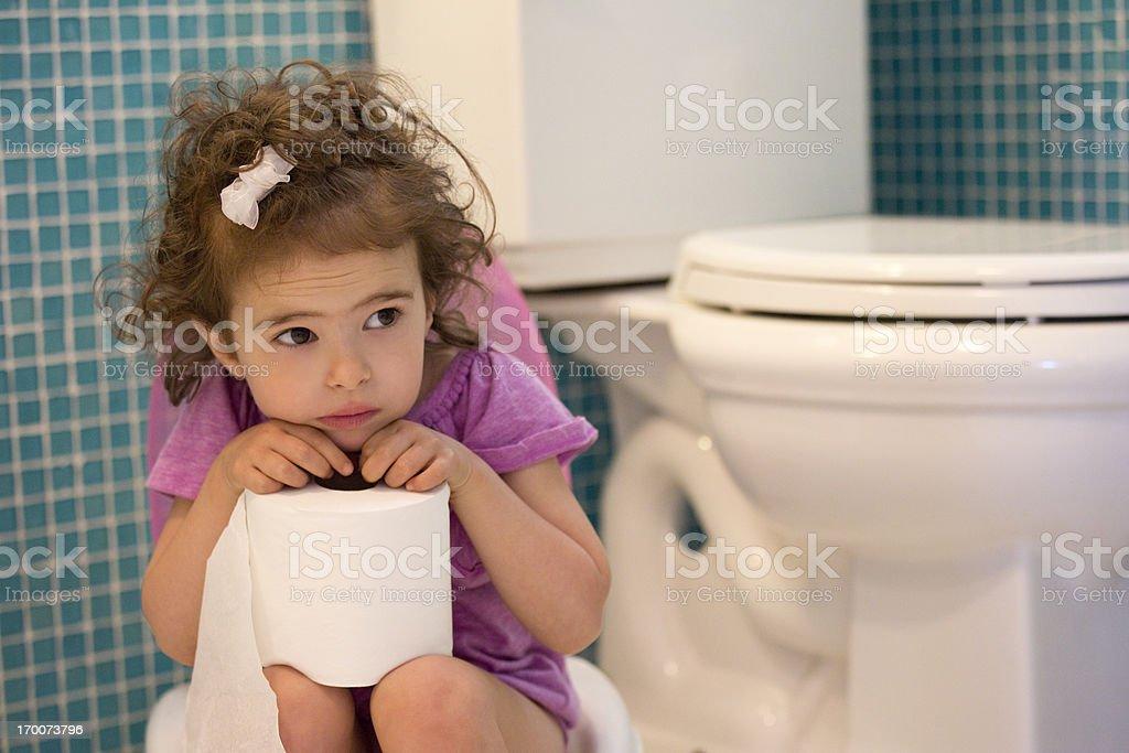 potty training concept stock photo