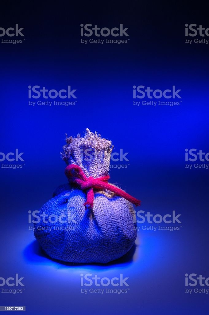 Pouch royalty-free stock photo