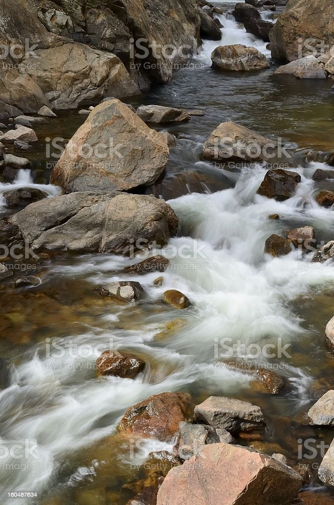 Poudre River royalty-free stock photo