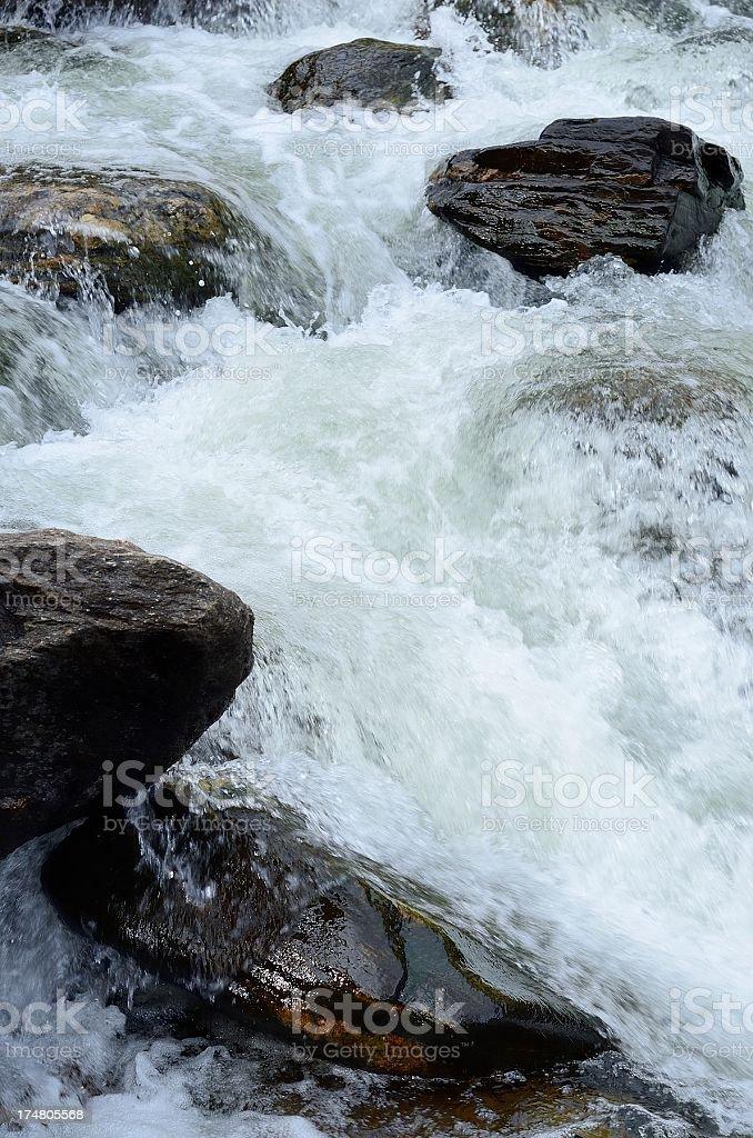 Poudre River royalty-free stock photo