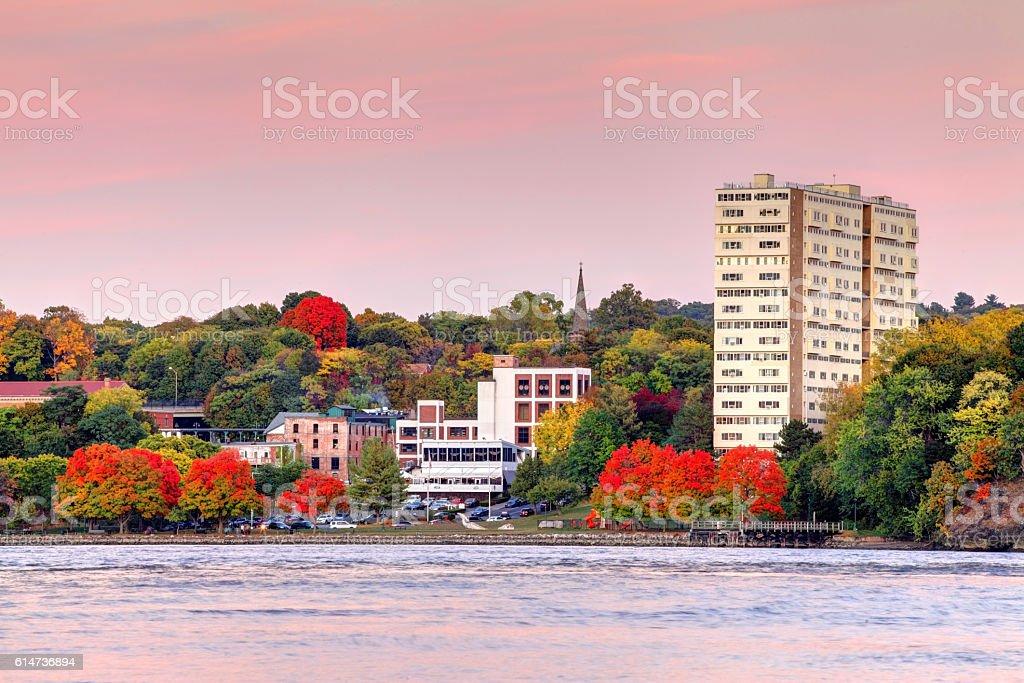 Poughkeepsie, New York stock photo
