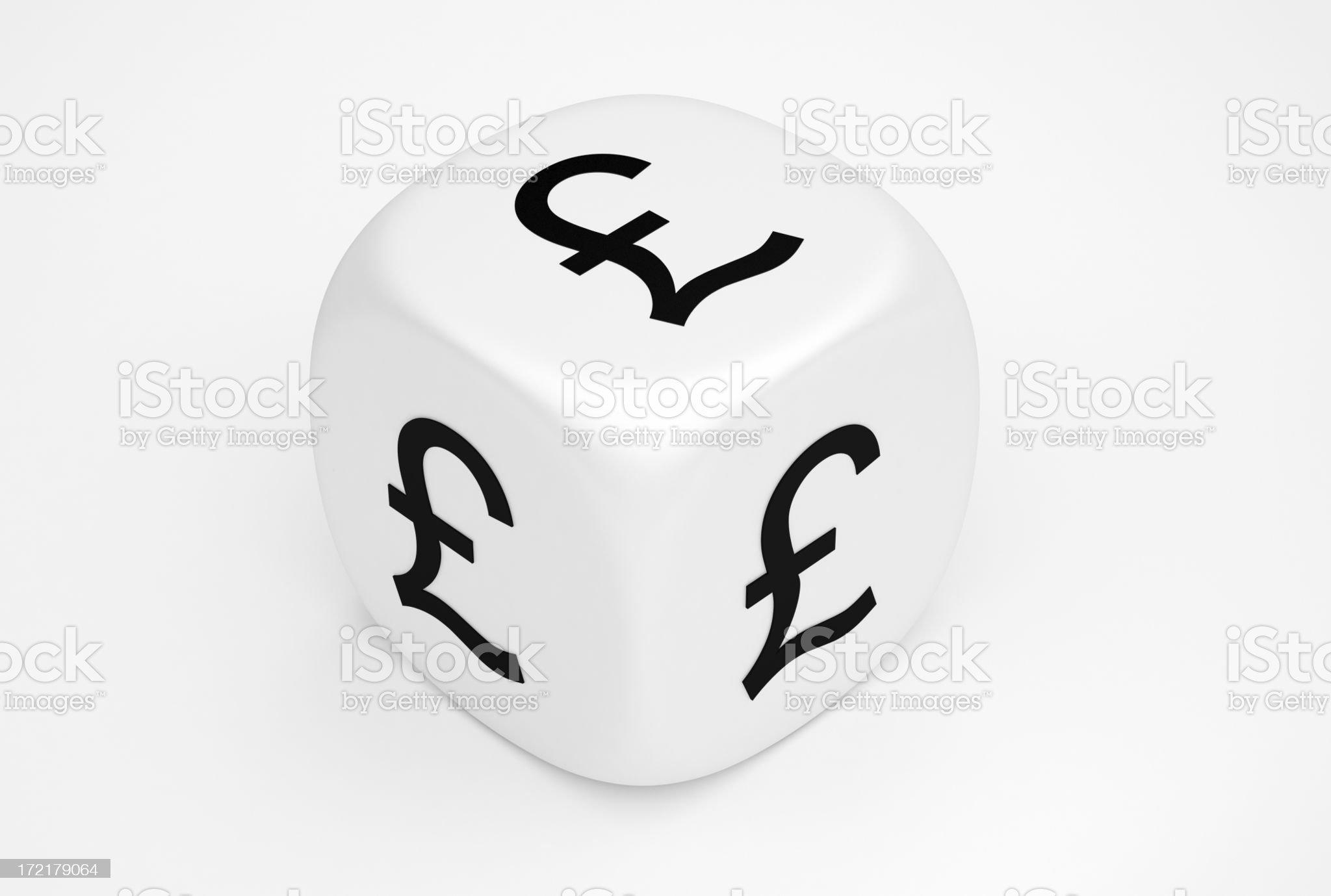 Pound Concepts royalty-free stock photo