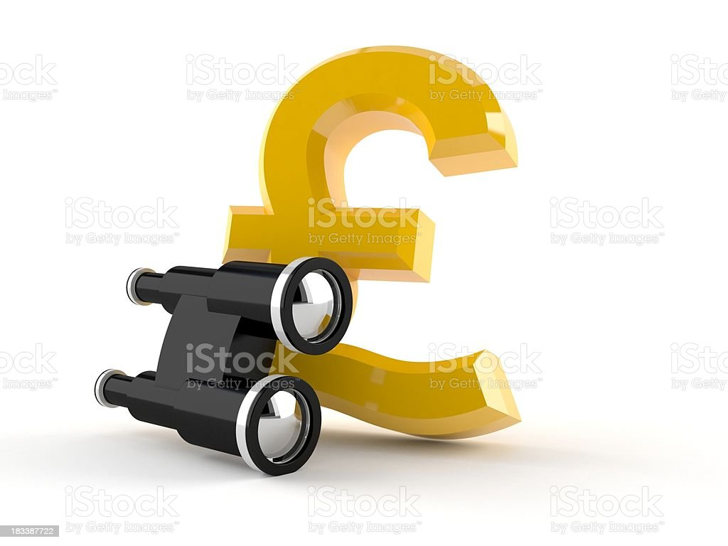 Pound currency stock photo