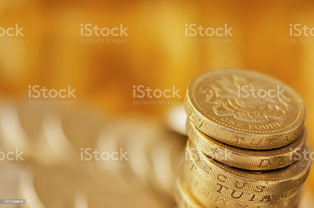Pound Landscape stock photo