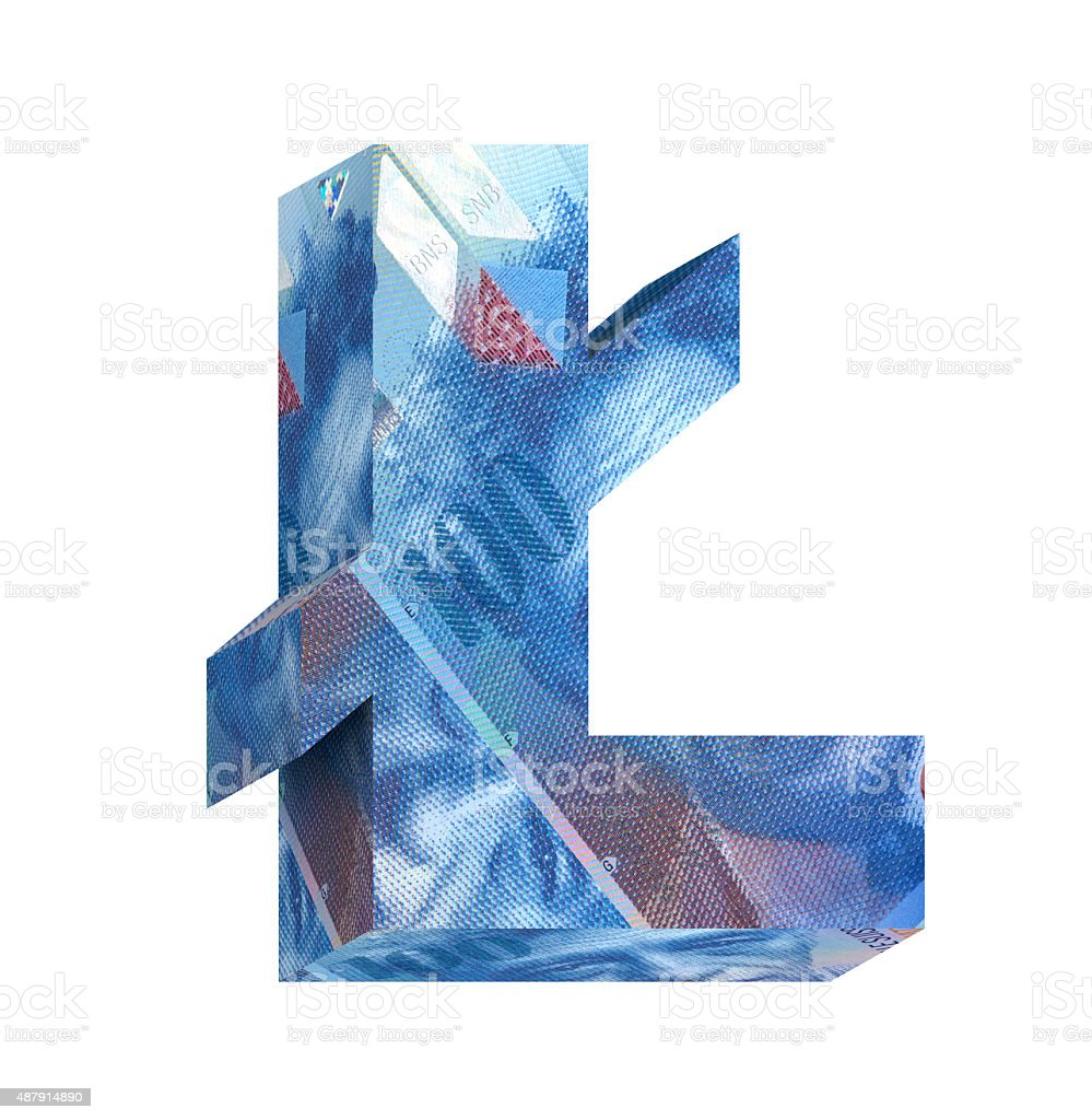 Pound sign from swiss franc bill alphabet set over white stock photo pound sign from swiss franc bill alphabet set over white royalty free stock photo buycottarizona Images