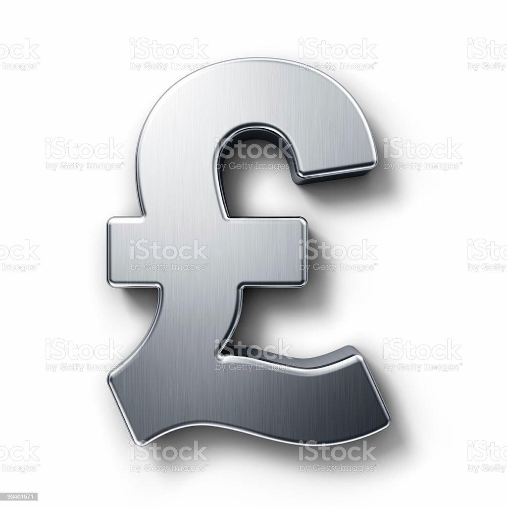 Pound sign royalty-free stock photo