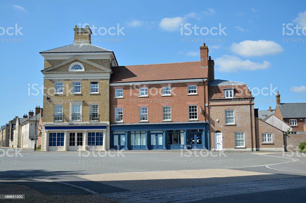 Poundbury Paceycombe Way royalty-free stock photo