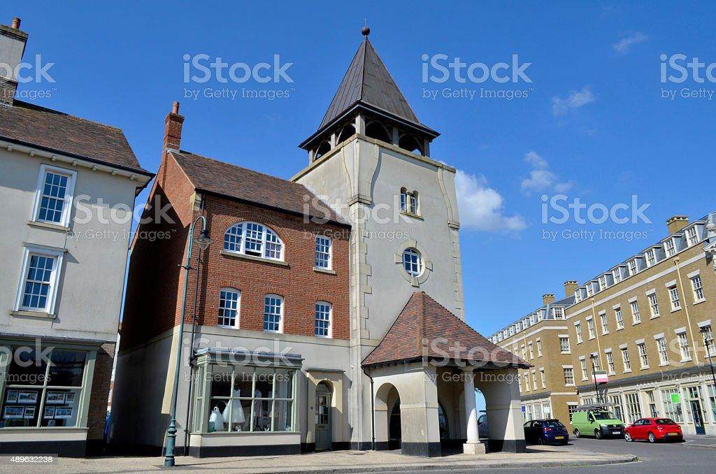 Poundbury The Rooms royalty-free stock photo